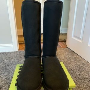 UGG Classic Ladies Tall Black Boots 8